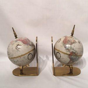 Replogle World Class Series Brass Bookends